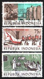 Indonesia. 1985. 1165-67. Five year development plan. USED.