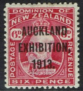 NEW ZEALAND 1913 AUCKLAND EXHIBITION 6D