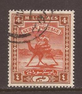 Sudan scott #21 used stock #T1556