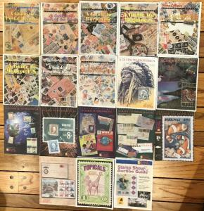 18 Guides to Stamp Collecting - Supplements to Stamp Collector magazine