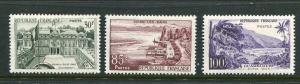 France #907-9 Mint
