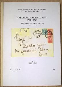 Czechoslovak Field Post 1918-1921 Postmarks Covers Cachets Postal History