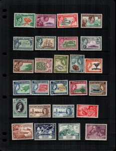 Pitcairn islands  30  different mint hinged and used