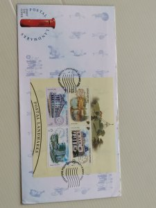 SINGAPORE 2000 FDC - SINGAPORE POSTAL LANDMARKS IN EXCELLENT CONDITION.