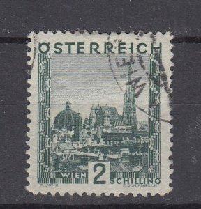 J29460, 1929-30 austria hv of set used #339