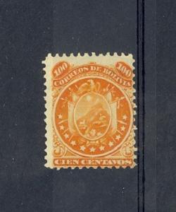 Bolivia Scott 18