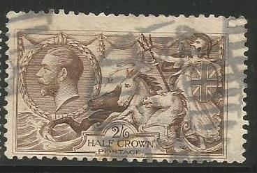 Great Britain Scott #179 Stamp - Used Single