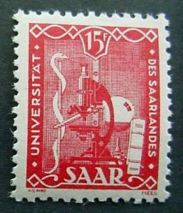 Germany, Saar, Scott 203, LH