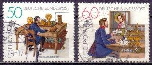 Germany. 1979. 1011-12. Europe. USED.