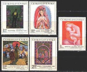 Czechoslovakia. 1970. 1965-69. Painting. MNH.