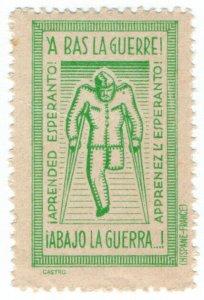 (I.B) Cinderella Collection : Esperanto Label (Down with War)