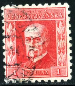 CZECHOSLOVAKIA - #98 - USED - 1925 - CZECH017AFF1