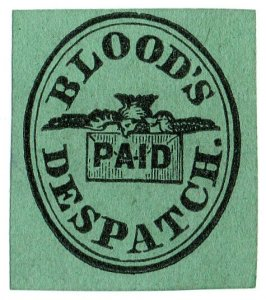 (I.B) US Local Post : Blood's Paid Despatch