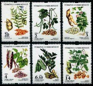 HERRICKSTAMP NEW ISSUES TURKEY Legumes