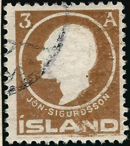 Used Iceland 1911 #87 VF SCV$16...High Qualityl!!