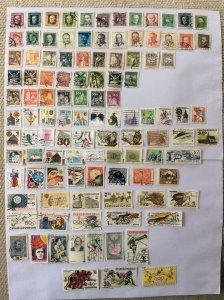 Czechoslovakia 100+ stamps - Lot D