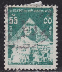 Egypt 900 Sphinx and Pyramid 1974