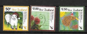 NEW ZEALAND SG3097/9 2008 CHRISTMAS (2ND ISSUE)   MNH