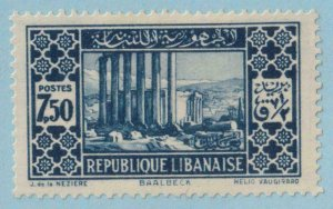 LEBANON 129  MINT HINGED OG * NO FAULTS EXTRA FINE !