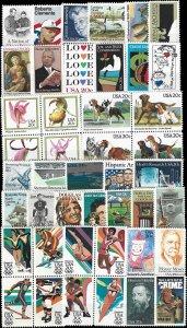 PCBstamps   1984 Commemoratives Year Set (2066//2109) (44), MNH, (6)