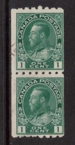 Canada #123 Used Coil Pair