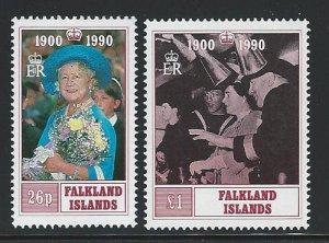 Falkland Islands  MNH sc  524-525