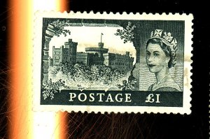 Great Britain #312 Used F-VF Crease Cat $35