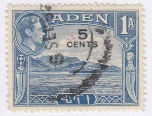 Aden, Sc 36 (1), Used, 1951, Definitive Overprint