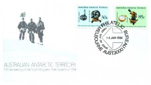 Australian Antarctic Territory, Worldwide First Day Cover, Polar
