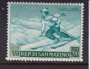 San Marino the 1953 Sport 200L MH (skiing