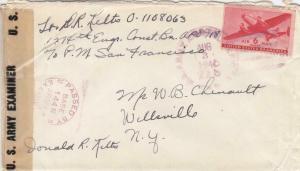 1945, APO 718, 1314th Eng. Const. Batt., Western Samoa, See Remark (M3276)
