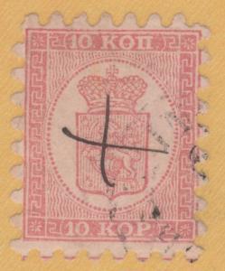Finnland 5 Helsingfors Stempel, 1860 Schöne 10 Kop + Zertifikat