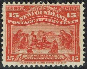 NEWFOUNDLAND 1897 400TH ANNIVERSARY 15C