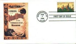 Heritage Cachet 3059 Smithsonian Institution