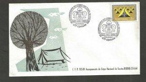 1964 Portugal Scouts XII Acampamento Nacional Covilha Teixoso