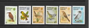 BIRDS - FALKLAND ISLANDS #354-9   MNH