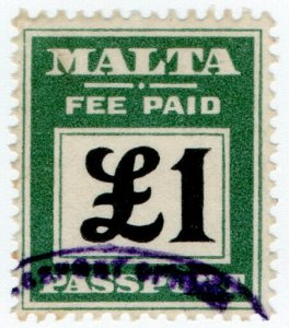 (I.B) Malta Revenue : Passport £1