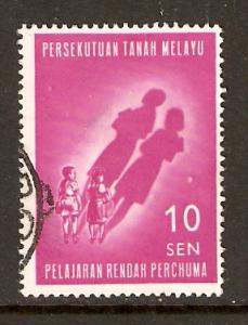 Malaya Federation  #108  used  (1962)