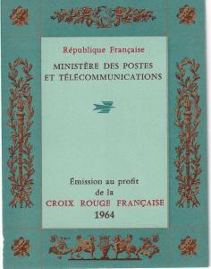 France #B385a Red Cross Booklet  CV $3.50 Z44