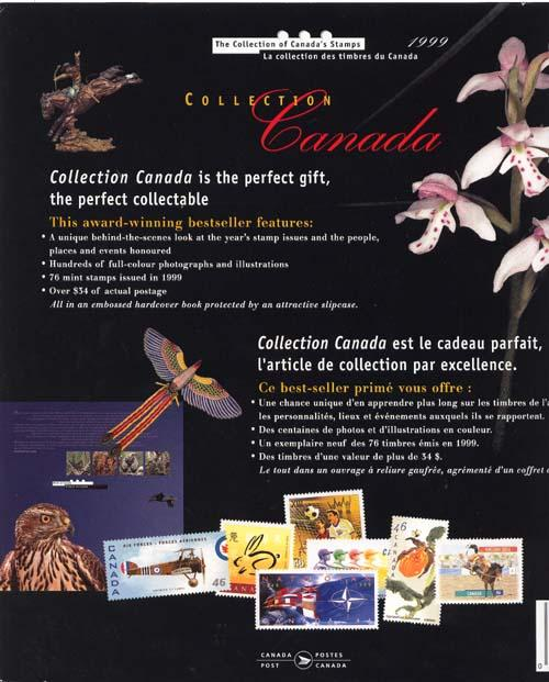 Annual Souvenir Collection The Postage Stamps of Canada 1999 USC#AC42