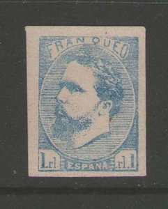 Spain 1873 Carlistische Sc x2 MH Cat$450 - but maybe forgery