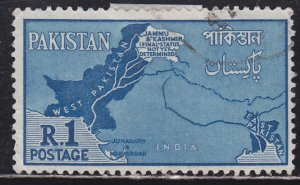 Pakistan 111 Map of Pakistan 1960