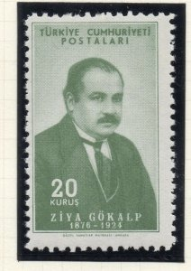 Turkey 1954-55 Early Issue Fine Mint Hinged 20k. NW-18204
