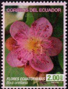 Ecuador 2053 - Used - $2 Achiote Flower (wmked) (2012) (cv $4.45)