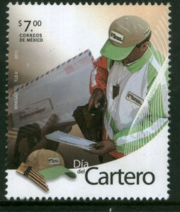 MEXICO 2804, LETTER CARRIERS DAY. MINT, NH. F-VF.