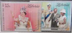 Liberia 798-9 (1977)
