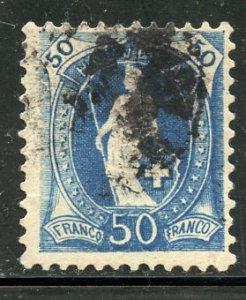 Switzerland # 86, Used. CV $ 25.00. Heavy Cx  (9)