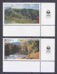 1999 Armenia 353-354+Tab Europa Cept 4,00 €