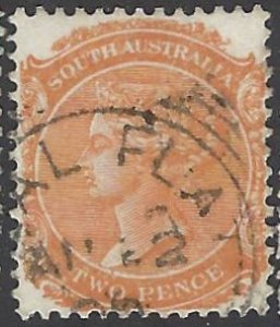 SOUTH AUSTRALIA 106 USED BIN $.50 ROYALTY