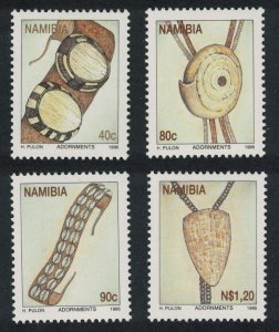 Namibia Personal Ornaments 4v SG#671-674